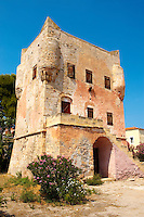 The Medieval Tower of Markellos used by the Greek government after the 1821 revolution.
