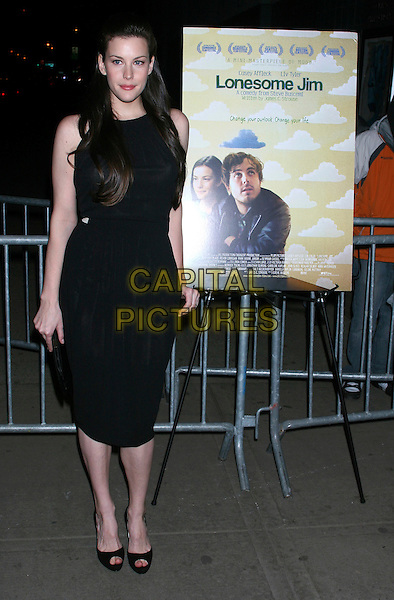 "LIV TYLER.""Lonesome Jim"" New York Screening at Clearview Chelsea West, New York City, NY, USA..March 21st, 2006.Ref: IW.full length black dress.www.capitalpictures.com.sales@capitalpictures.com.©Capital Pictures"