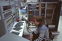 Northern Telecom Inc. Palo Alto, California, 1974. The first digital telephone systems. Photo by John G. Zimmerman.