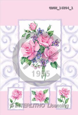 Stephen, FLOWERS, paintings(GBUK14204/1,#F#) Blumen, flores, illustrations, pinturas ,everyday