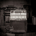 ROCK AND ROLL WILL NEVER DIE -- Although this Select-O-Matic 100 has seen better days. Abandoned in an old garage in Darlington, Wisconsin, USA.  Fo#michaelknapstein #midwestmemoir #blackandwhite #B&W #monochrome #motherfstop #wisconsin  #bwphotography #myfeatureshoot  #fineartphotography #americanmidwest #squaremag #lensculture #mifa #moscowfotoawards #moscowinternationalfotoawards #rps #royalphotographicsociety #CriticalMass #CriticalMassTop200 #photolucida  #portfolioshowcase11 #thegalaawards #thepolluxawards #flakphoto #ipe160 #ipe161 #grainedephotographe  #galleryofwisconsinart