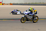 CEV Repsol en Motorland / Aragón <br /> a 08/06/2014 <br /> En la foto :<br /> moto3 races<br /> ryan wayne- crash-rider ok<br />RM/PHOTOCALL3000