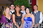 Eileen O'Reilly Kilgarvan, Dan Horgan, Antonia O'Sullivan Killorglin, Padraig O'Shea Currow, Joanna McAulliffe Knocknagoshel and Grant Ross Glasgow at the Fexco social in the Dromhall Hotel on Saturday night     Copyright Kerry's Eye 2008