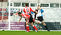21/10/2006       Copyright Pic: James Stewart.File Name :sct_jspa04_gretna_v_clyde.CHRI HIGGINS SCORES CLYDE'S FIRST...Payments to :.James Stewart Photo Agency 19 Carronlea Drive, Falkirk. FK2 8DN      Vat Reg No. 607 6932 25.Office     : +44 (0)1324 570906     .Mobile   : +44 (0)7721 416997.Fax         : +44 (0)1324 570906.E-mail  :  jim@jspa.co.uk.If you require further information then contact Jim Stewart on any of the numbers above.........