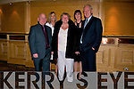 DANCING: Dancing the night away at the Kerins Park, first social in the Brandon Hotel, Tralee on Saturday night, l-r: Joe Hanley, Sandra O'Connor, Angela O'Connor, Patricia Flynn and Tony O'Connor. .........