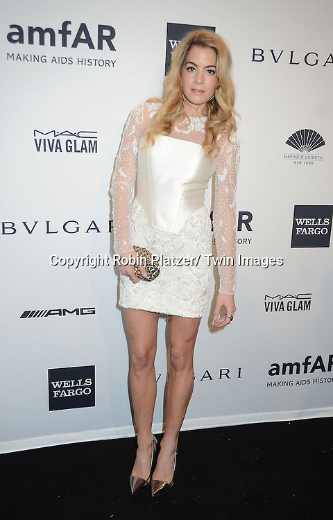 Chelsea Leland attends the amfAR New York Gala on February 5, 2014 at Cipriani Wall Street in New York City.
