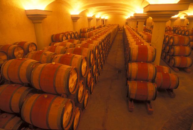 Ferrari-Carano wine cellar