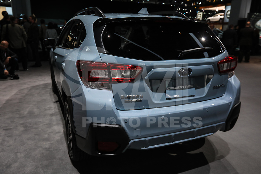 NEW YORK, EUA, 12.04.2017 - AUTOMÓVEL-NEW YORK -  Subaro Crosstrek é visto durante o New York Internacional Auto Show no Javits Center na cidade de New York nesta quarta-feira, 12. O evento é aberto ao público do dia 14 à 23 de abril de 2017  . (Foto: Vanessa Carvalho/Brazil Photo Press)