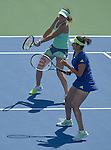Hingis and Mirza Win In Doubles