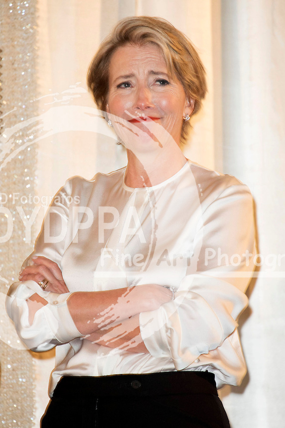 Emma Thompson attending the 'Tribute to Alan Rickman' event at the 66th Berlin International Film Festival / Berlinale 2016 at Kino International on February 16, 2016 in Berlin, Germany.
