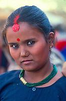 Tamang woman, Ranipowa, Nepal.