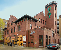 Historic Firehouse Number 18 in Ballard,Washington, now the Hi Life Restaurant