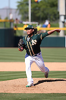Sean Manaea - Oakland Athletics 2016 spring training (Bill Mitchell)
