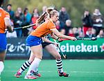 BLOEMENDAAL  - Hockey -  finale KNHB Gold Cup dames, Bloemendaal-HDM . Bloemendaal wint na shoot outs. Fee Schreuder (Bldaal)  met /HwCOPYRIGHT KOEN SUYK