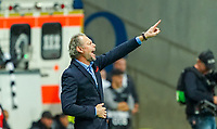 Trainer Michel Preud'homme (Standard Lüttich, R. Standard de Liege) - 24.10.2019:  Eintracht Frankfurt vs. Standard Lüttich, UEFA Europa League, Gruppenphase, Commerzbank Arena<br /> DISCLAIMER: DFL regulations prohibit any use of photographs as image sequences and/or quasi-video.