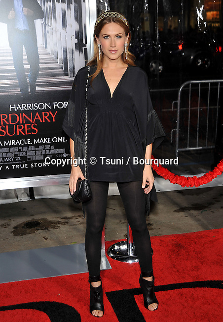 Vail Bloom _78  -<br /> Extraordinary Measures Premiere at the Chinese Theatre In Los Angeles.