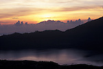 Sunrise at Mount Batur, Bali, Indonesia