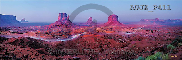 Dr. Xiong, LANDSCAPES, panoramic, photos, Light on the Land, Monument Valley, USA(AUJXP411,#L#)