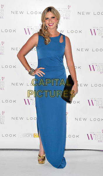 LONDON, ENGLAND - NOVEMBER 06: Brooke Kinsella at the New Look Winter Wishes Ball, Battersea Evolution, Battersea Park on November 6th, 2013 in London, England, UK.<br /> CAP/PP/GM<br /> &copy;Gary Mitchell/PP/Capital Pictures