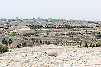 Israel, Jerusalem, Old Town, Holy land, Mount of olives, jewish cemetery