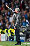 Head coach Jupp Heynckes of FC Bayern Munich gestures during the UEFA Champions League Semi-final 2nd leg match between Real Madrid and Bayern Munich at the Estadio Santiago Bernabeu on May 01 2018 in Madrid, Spain. Photo by Diego Souto / Power Sport Images