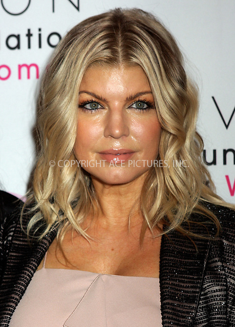 WWW.ACEPIXS.COM . . . . .  ....November 2 2011, New York City....Singer Fergie at the celebration of Avon's 125th Anniversary at the Avon Foundation Global Voices for Change Gala at Marriott Marquis Times Square on November 2, 2011 in New York City.....Please byline: NANCY RIVERA- ACEPIXS.COM.... *** ***..Ace Pictures, Inc:  ..Tel: 646 769 0430..e-mail: info@acepixs.com..web: http://www.acepixs.com