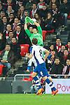 BILBAO. ESPA&Ntilde;A. FUTBOL.<br /> Partido de la Liga BBVA entre Athletic Club y Espanyol; a 16-02-14. <br /> En la imagen :<br /> 1Gorka Iraizoz (Athletic Bilbao)<br /> PPHOTOCALL3000 / RME