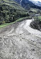 Switzerland; Intschi, Uri, Lavina, Lawina