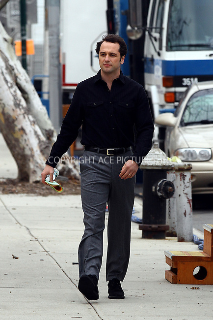 WWW.ACEPIXS.COM<br /> <br /> December 2 2013, New York City<br /> <br /> Actor Matthew Rhys was on the Brooklyn set of the TV show 'The Americans' on December 2 2013 in New York City<br /> <br /> By Line: Zelig Shaul/ACE Pictures<br /> <br /> <br /> ACE Pictures, Inc.<br /> tel: 646 769 0430<br /> Email: info@acepixs.com<br /> www.acepixs.com