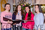 Grace McCarthy, Roisin Beazley, Roseanne O'Shea Colette O'Shea Castleisland Choir who are rehearsing for their concert in aid of Glebe Lodge in St Stephen and John church Castleisland on Monday 21st December