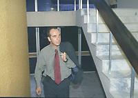 09/07/01 - CASO JADER BARBALHO/ DELEGADO LUIZ FERNANDO AYRES.<br />FOTO: CRISTINO MARTINS/ O LIBERAL