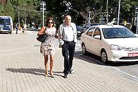 S&Atilde;O PAULO, SP, 15.07.2016 - HECTOR-BABENCO - Drauzio Varella durante vel&oacute;rio do cineasta Hector Babenco, na Cinemateca Brasileira, zona sul de S&atilde;o Paulo,nesta sexta-feira,15. Babenco morreu ap&oacute;s parada cardiorrespirat&oacute;ria na noite desta quarta feira, 13. <br /> (Foto: Fabricio Bomjardim/Brazil Photo Press)