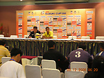 Branding and Pre-match activities prior to the AFF Suzuki Cup 2008 Group B matches at Surakul Stadium on 09 December 2008, in Phuket, Thailand. Photo by Stringer / Lagardere Sports