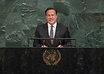 72 General Debate &ndash; 20 September <br /> <br /> <br /> His Excellency Juan Carlos Varela Rodr&iacute;guez, President of the Republic of Panama