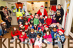 Santa visited the children at Oakview childcare on Thursday.