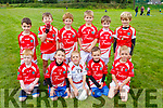 The St Pats Blennerville team taking part in the John Mitchels U8 and U10 Annual Club Blitz at the Complex on Saturday.