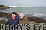 Pictured at the Red Bull Wind Surfing event at Maharees, Castlegregory on Monday were l-r: Jerry O'Sullivan and Elaine Kennedy (Dingle).