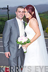 Tracy Costello daughter of Bridie and the late Ben, Rusheen, Ballylongford and Kieran O'Sullivan son Bob and Grace, Scartlea, Listowel, who were married on Friday at the St Michael's Church, Ballylongford. Fr Padraig officiated at the ceremony. Bestman was Seams Beasley and groomsmen were Shane, Aidan and Brendan O'Sullivan (grooms brothers). Bridesmaids were Jullie Kelly, Mary Kennelly, Agnes Carey and Elaine Lonergan. Flowergirls were Molly Kennelly, Michelle Costello and Julia Beasley. Pageboy was Shane Mason. The reception was held at the Ballyroe Heights hotel, Tralee and the couple will reside in Listowel.