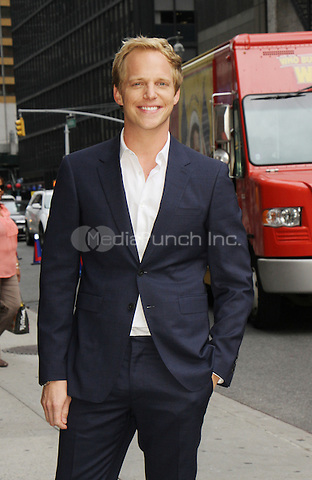 NEW YORK, NY-August 31: Chris Geere at The Late Show with Stephen Colbert  to talk about upcoming season of his FXX Show You're The Worst in New York. August 31, 2016. Credit:RW/IMediaPunch
