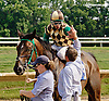 Hardest Core winning The Cape Henlopen Stakes at Delaware Park on 7/12/14