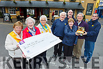 €15,000 was raised for the Irish Cancer Society from the Good Friday walk in Tralee. Pictured front l-r were: Ann O'Connor, Chris Griffin and Maureen Roche. Back l-r were: Moss and Mary Spillane, David O'Connor, Pat Hussey and Paul Moran.