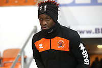 Blackpool's Armand Gnanduillet<br /> <br /> Photographer Rachel Holborn/CameraSport<br /> <br /> The EFL Checkatrade Trophy Group C - Blackpool v Accrington Stanley - Tuesday 13th November 2018 - Bloomfield Road - Blackpool<br />  <br /> World Copyright © 2018 CameraSport. All rights reserved. 43 Linden Ave. Countesthorpe. Leicester. England. LE8 5PG - Tel: +44 (0) 116 277 4147 - admin@camerasport.com - www.camerasport.com
