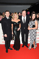 Ben Shepherd, Kate Garaway, Piers Morgan &amp; Susanna Reid at the National TV Awards 2017 held at the O2 Arena, Greenwich, London. <br /> 25th January  2017<br /> Picture: Steve Vas/Featureflash/SilverHub 0208 004 5359 sales@silverhubmedia.com