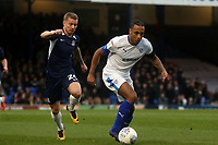 Jason Demetriou of Southend United and Neil Danns of Tranmere Rovers during Southend United vs Tranmere Rovers, Sky Bet EFL League 1 Football at Roots Hall on 11th January 2020