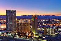 Beautiful Las Vegas City Skyline View