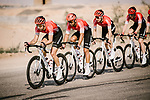 Team Arkea-Samsic on the front of the peloton during Stage 5 of the Saudi Tour 2020 running 144km from Princess Nourah University to Al Masmak, Saudi Arabia. 8th February 2020. <br /> Picture: ASO/Pauline Ballet   Cyclefile<br /> All photos usage must carry mandatory copyright credit (© Cyclefile   ASO/Pauline Ballet)