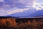 The Teton Mountain Range is located in Jackson Hole, Wyoming.