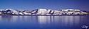 Lake Tahoe Scenic Winter Mountain Reflections