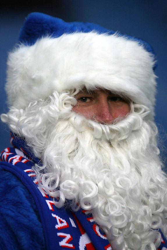 Father Christmas spotted in the crowd<br /> <br /> Football - Barclays Premiership - Chelsea v West Ham United - Sun 14 Dec 2008 - Stamford Bridge - London<br /> <br /> &copy; CameraSport - 43 Linden Ave. Countesthorpe. Leicester. England. LE8 5PG - Tel: +44 (0) 116 277 4147 - admin@camerasport.com - www.camerasport.com