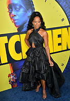"LOS ANGELES, USA. October 15, 2019: Regina King at the premiere of HBO's ""Watchmen"" at the Cinerama Dome, Hollywood.<br /> Picture: Paul Smith/Featureflash"